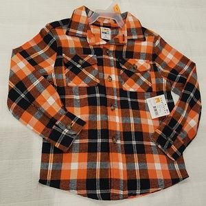 NWT Boys button down shirt